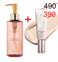 M Perfect Blanc BB Cream 40ml + M Perfect Deep cleansing oil 200ml