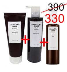 Damaged hair shampoo 400ml +Treatmet 200ml+mist 200ml