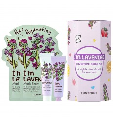 TONY MOLY, I'm Lavender Sensitiv Skin set 4pcs