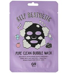 G9SKIN, Self Aesthetic, Pore Clean Bubble Mask 1pcs